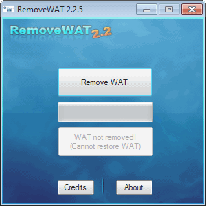 Removewat crack windows 7 attivazione crackare windows7 for La licenza di windows sta per scadere