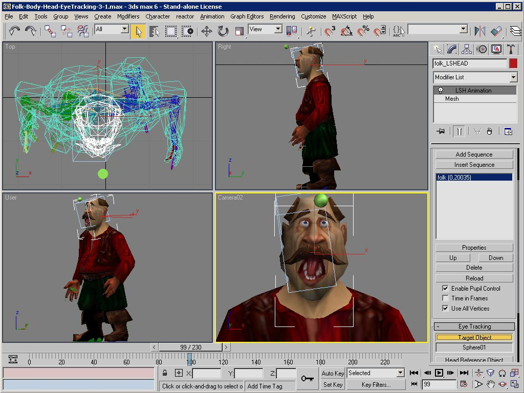 Software animazione e la modellazione tridimensionale 3d for Modellazione 3d gratis