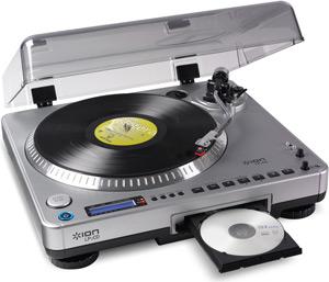trasformare in CD un vecchio LP
