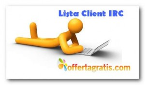 Lista client IRC File sharing