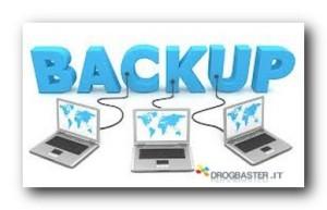 backup e rispristino
