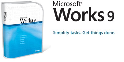 elaboratore di testi microsoft works