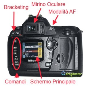 fotocamera reflex nikon D70